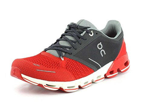 ON - Running-Schuhe in Red White, Größe 40.5 EU