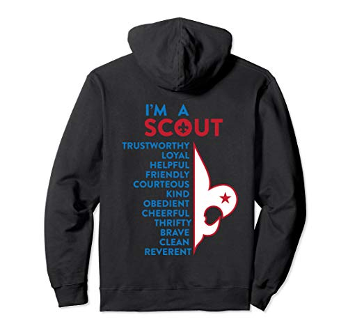 I'm a Scout | Scout Law Pullover Hoodie