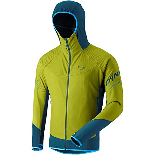 DYNAFIT M Mezzalama 2 Polartec Alpha Jacket Grün, Herren Polartec Isolationsjacke, Größe M - Farbe Moss