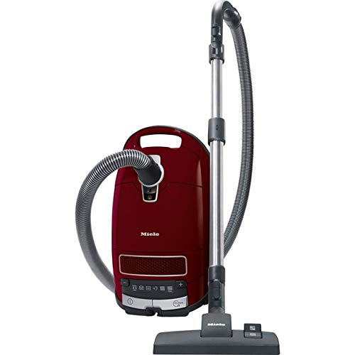 Miele Complete C3 Pure Red PowerLine, Red, Bagged Cylinder Vacuum Cleaner,...