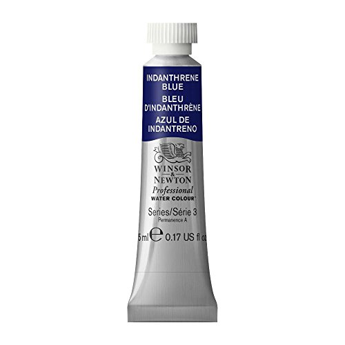 Winsor & Newton Professional Water Colour Paint, 5ml tube, Indanthrene Blue