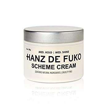 Hanz de Fuko Scheme- Premium Mens Hair Styling Cream with High Shine Finish  2oz