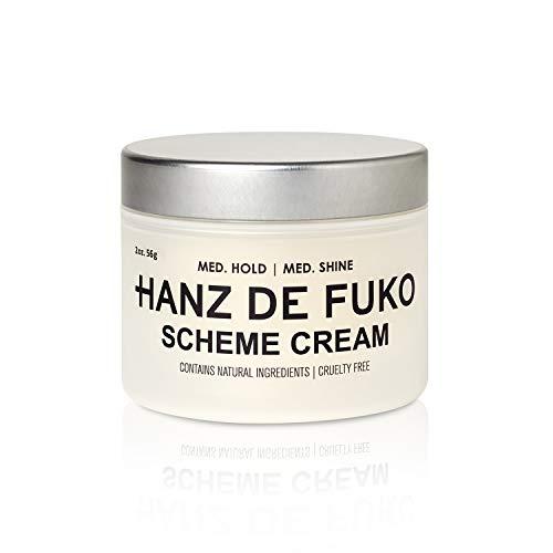 Price comparison product image Hanz de Fuko Scheme- Premium Mens Hair Styling Cream with High Shine Finish (2oz)