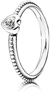 Pandora Ring One Love, Clear Cubic Zirconia, Size 52 Eur 190896cz-52 by Unknown