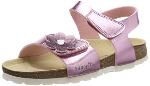 Superfit Mädchen Fussbettpantoffel Pantoffeln, Pink (Rosa 56), 30 EU