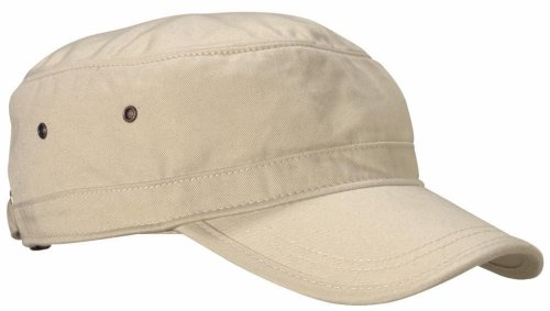 econscious 100% Organic Cotton Twill Adjustable Corps Hat (Oyster)