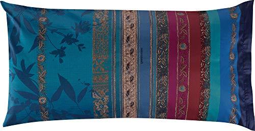 Bassetti Malve B1 - Federa per cuscino, 40 x 80 cm, colore: Blu