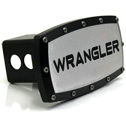 dantegts Jeep Wrangler 5,1cm Anhängerkupplung, Plug Gravur Billet Schwarz pulverbeschichtet