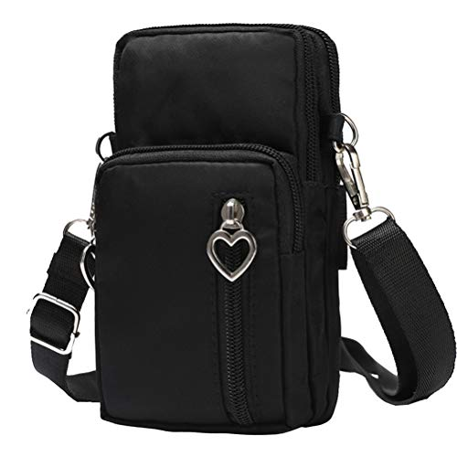 HAOCAI Sports Polyester Phone Crossbody Bag Arm Pack Lightweight Mini Women Messager Bags