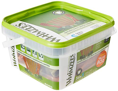 WHIMZEES Variety Value Box Snacks, Talla S - 56 Piezas