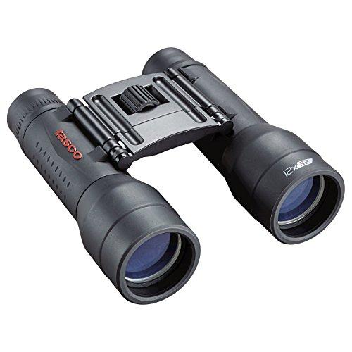 TASCO Essentials Prismaticos, Observacion y Aire Libre, Negro, 12x32