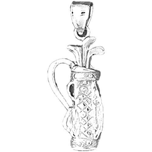 Jewels Obsession Anhänger Golfschläger Sterling-Silber 925 35 mm
