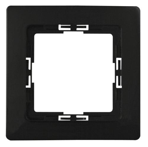 Kopp 1-fach Rahmen Paris, schwarz