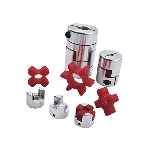 QINGRUI Tool Accessories 3PCS / Jaw Flexible Kupplung Plum Kupplung Durchmesser = 25...