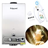 Ridgeyard 3.2GPM Water Heater 12L Digital Display LPG Propane Gas...