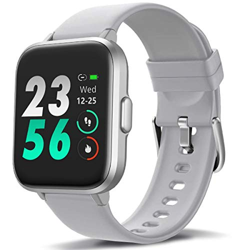 MorePro Smart Watch 18 Sport Modes Activity Tracker Heart Rate Fitness Watch Blood Oxygen Monitor Sleep Tracker Calories...