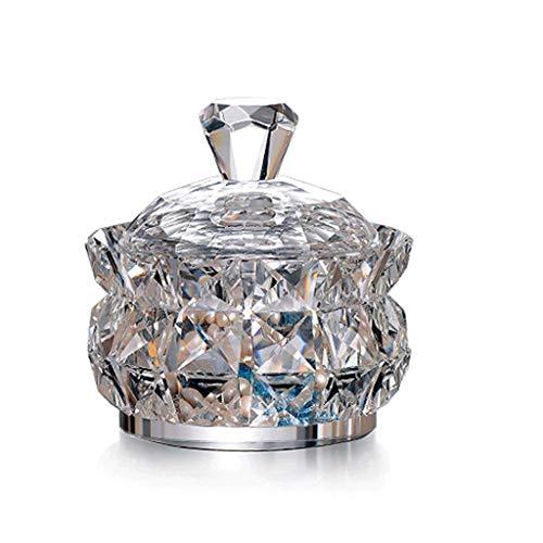 GYZS jewelry box Cristal Joyero Cristal Cristal Dulce Bote Caja de Almacenamiento...