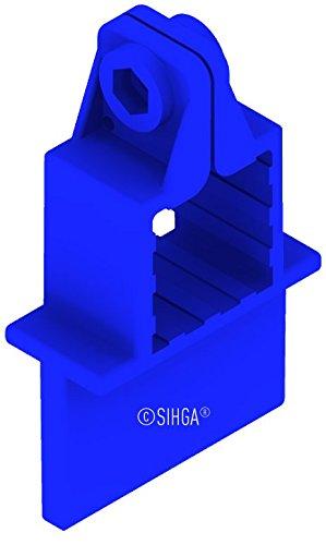 Sihga | FugiFix für Zwinge FFZ 6 mm | 5 Stück | Fugenabstandshalter | Terrassenmontage