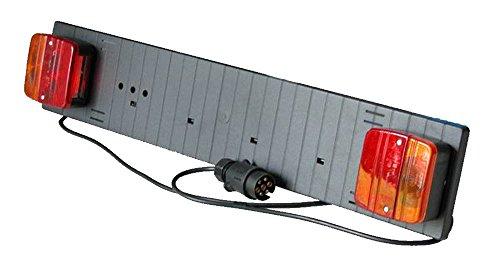 IMDIFA 936Soporte de matrícula para portabicicletas con Luces de 12V