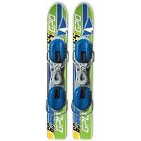 GPO Racing Figl - Esquís de Carreras (65 cm de Longitud, Incluye Fijaciones GC-001)