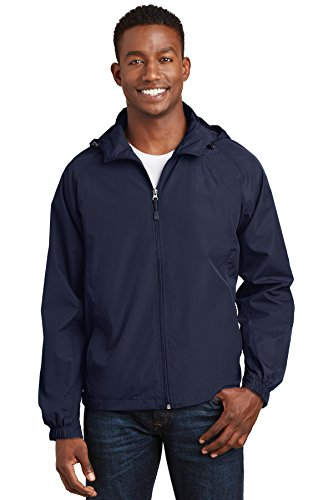 SPORT-TEK Hooded Raglan Jacket F20