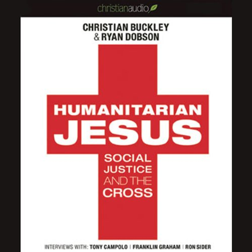 Humanitarian Jesus audiobook cover art
