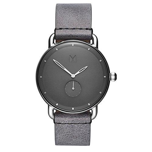 MVMT Herren Analog Quarz Uhr mit Leder Armband D-MR01-SGR