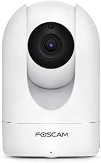Foscam Home Security Camera R4S 4MP(2K) WiFi Camera, 2.4/5GHz Wireless IP Camera Baby Monitor with AI Human Detection & So...