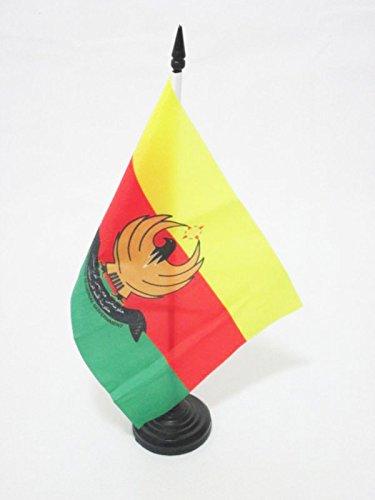AZ FLAG Western Kurdistan Table Flag 5