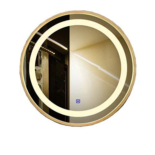 Le Miroir Rond de Salle de Bains a mené Le Miroir en Verre de Toilette de Toilette d'évier de Tenture Murale