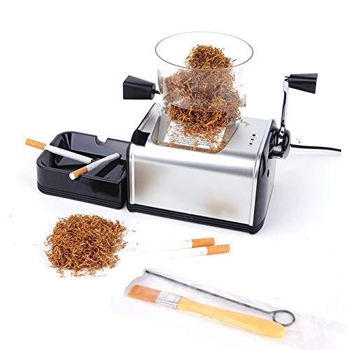 MSHK Maquina Liadora De Tabaco Entubadora Electrica para Cigarrillos De Papel De...