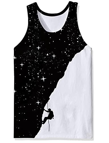 Camisetas sin Mangas con músculos geniales Unisex, Ropa Deportiva a la Moda, Camisetas de Entrenamiento para Culturismo, Chaleco sin Mangas para Hombre Feroz para Gimnasio