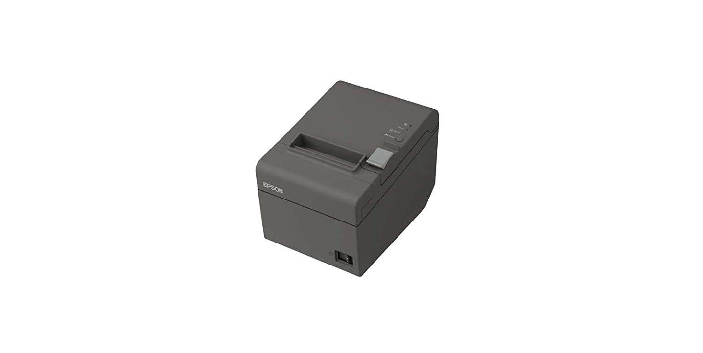 Epson C31CD52A9912 Epson, TM-T20II, Mpos, EDG, Ethernet Interface, Ps-180 Included, Cat 5 Cable Included, Replaced C31Cd52A9982