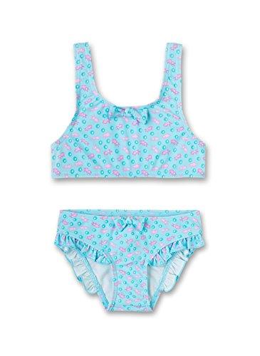 Sanetta Mädchen 430372 Bikinislip, Türkis (Capri Breeze 50078), 92