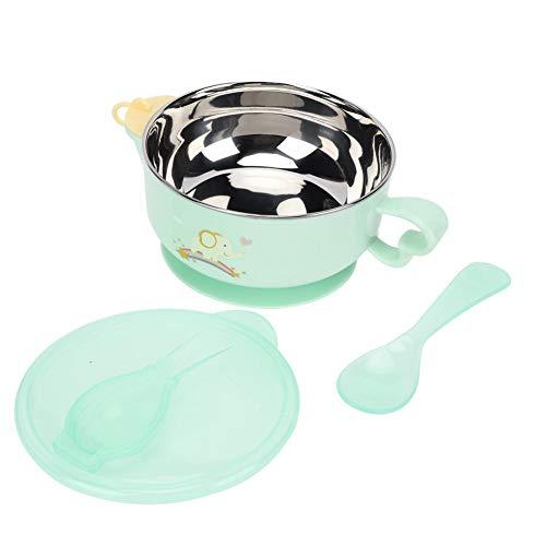 Tazón de lechón de alimentación para niños, tazón de preservación del calor...