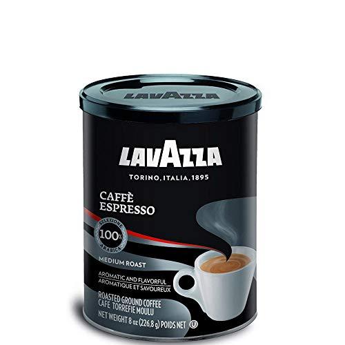 Lavazza - Caffè Espresso Black Gemahlener kaffee - Dose 250 g