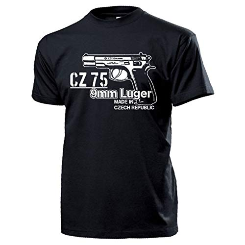 CZ 75 9 - Maglietta sportiva per pistola, modello Luger # 17759...
