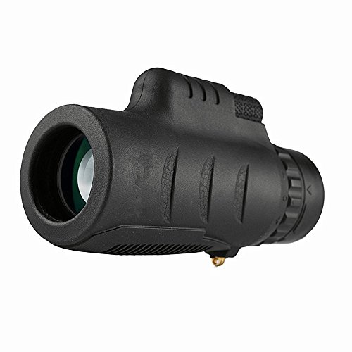 Review WUSHIYU Monocular Telescope 10x35 High-Definition Non-Infrared Monocular Telescope Low-Light ...