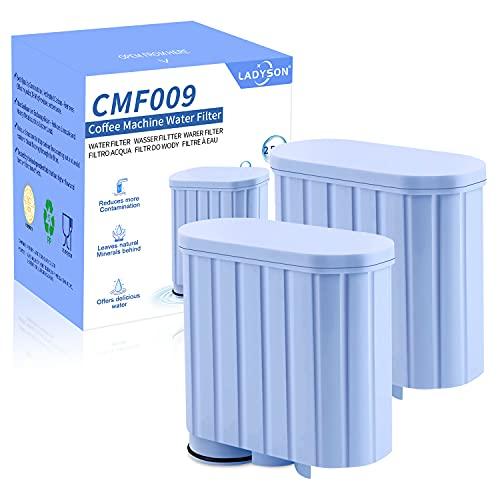 Wasserfilter für Philips Kaffeemaschine, Wasserfilter kompatibel AquaClean CA6903/22 CA6903/00 CA6903/99, SRJTEK Filterkartusche für Saeco Kaffeevollautomaten (2 Stück)