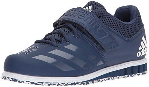adidas Men's Powerlift.3.1 Cross Trainer, Noble Indigo/Noble Indigo/White, 3.5 UK