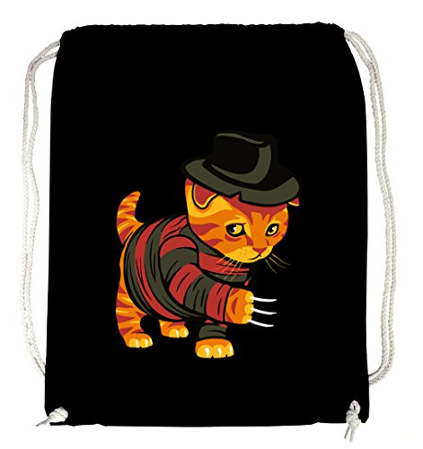 Certified Freak Evil Cat Gymsack Black