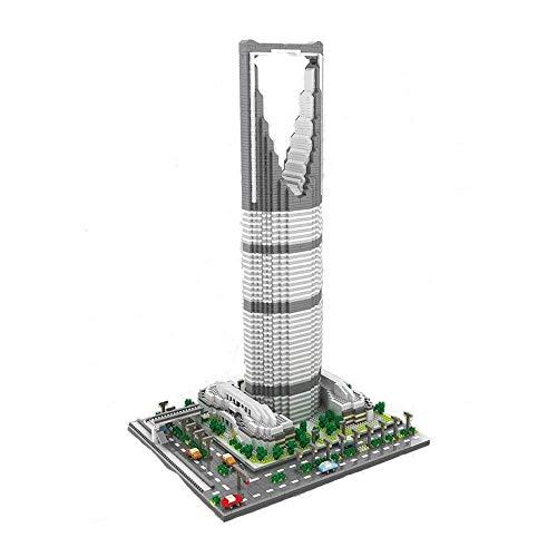 LKITYGF Perfekt Berühmte Wahrzeichen Modell Commercial Building 4692 + PC Mini Baustein Kit Kinder Baubildung DIY Spielzeug Geschenk