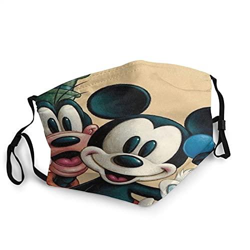 Mickey Donald Goofy UV-Gesichtsmaske, Sonnenmaske, Motorrad-Kopfbedeckung, magischer Schal, zum Angeln, Jagen, Laufen, Skifahren