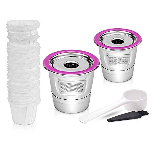 Stainless Steel Reusable Cups Compataible for Keurig K select K80,...