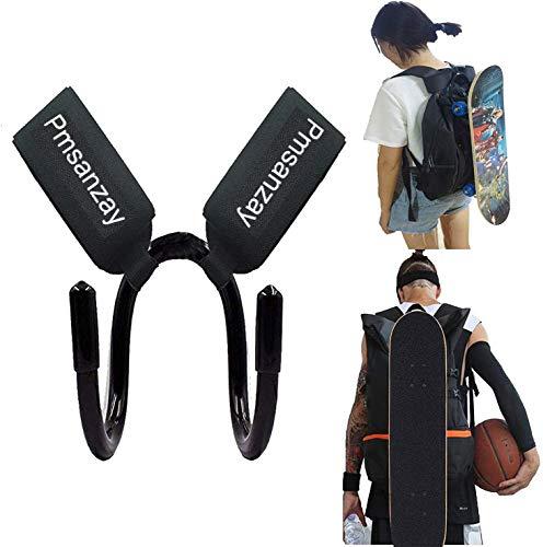 Universal-Rucksack-Schultergurt-Aufhänger – Rucksackbefestigung, Skateboard-Tragegurt, Skateboard-Tragegurt, Skateboard-Tragegurt, für alle Boards geeignet