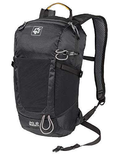 Jack Wolfskin Kingston 16 Pack Jours sac à Dos, Zaino Unisex-Adulto, Nero (Black), One Size