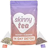 Skinny Tea 14 Day Detox Tea for Weight Loss and Reduced Tummy Bloating: The Original 2-Step Detox...
