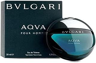 B v l g a r i Aqva Pour Homme Eau De Toilette Spray for Men 1.7 FL. OZ./50 ml.