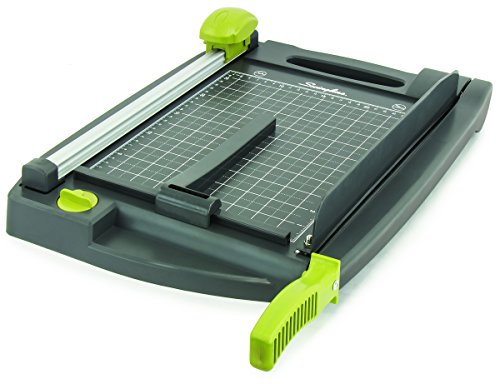 Swingline 6447492120 2-In-1 Rotary/Guillotine Trimmer, Includes 3 Rotary Blades, 17 x 3.7 x 14