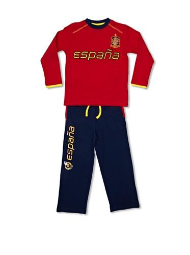 Selección Española Pijama Marino/Rojo 6 años (116 cm)